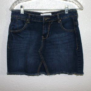 "26"" waist PAPER DENIM & CLOTH denim mini skirt"